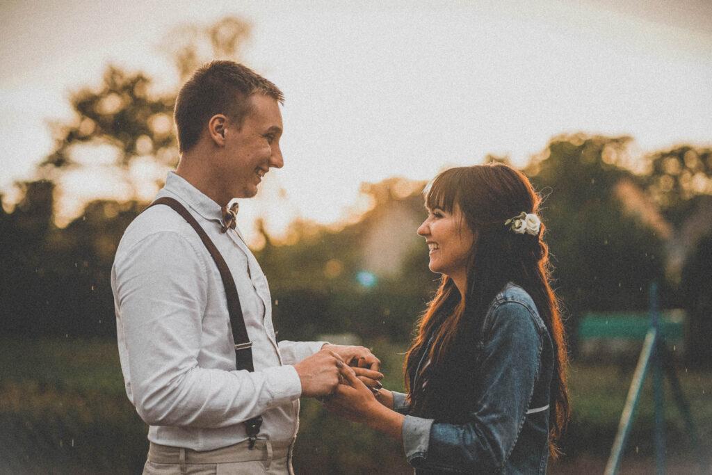Svatební video Okřesaneč